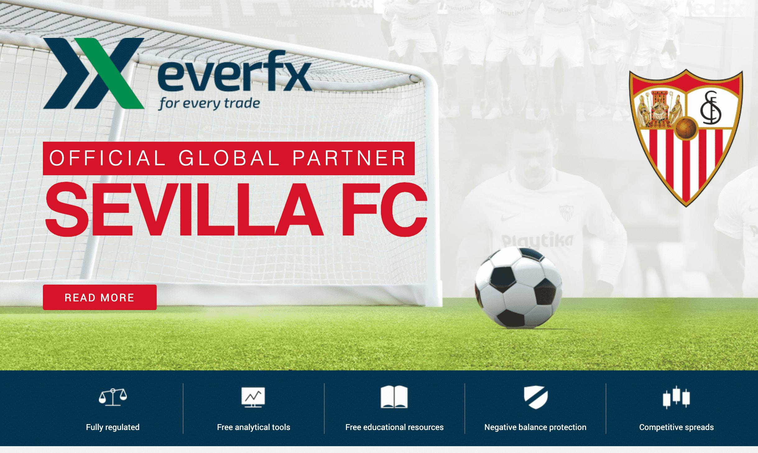 EverFX Website Screenshot
