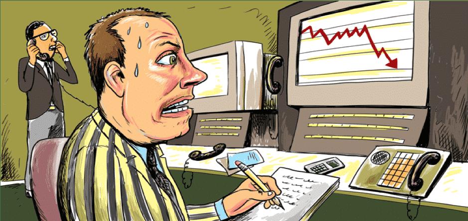 Forex Trading Cartoon