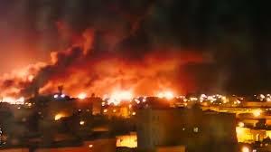 oil plants attacks in Saudi Arabia