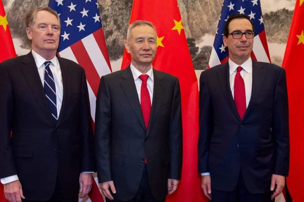 US China trade tallks