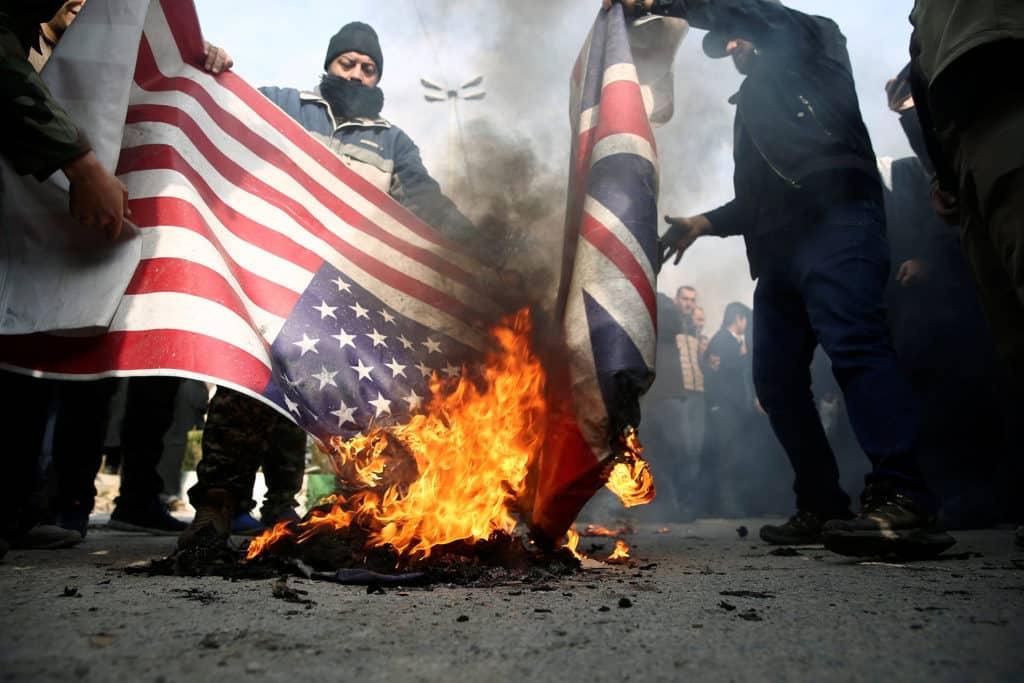 US airstrikes on Iran