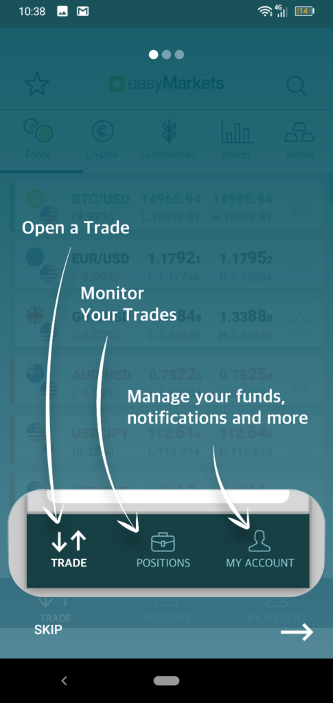 easyMarkets App Screenshot 5