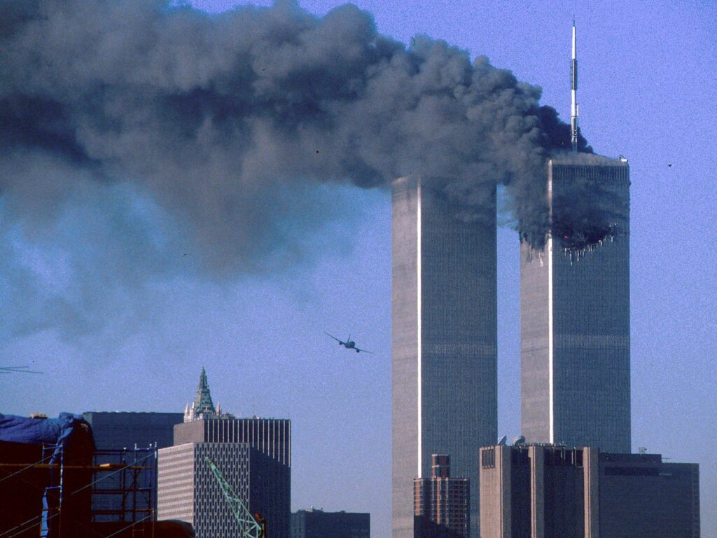 9/11 attacks in New York