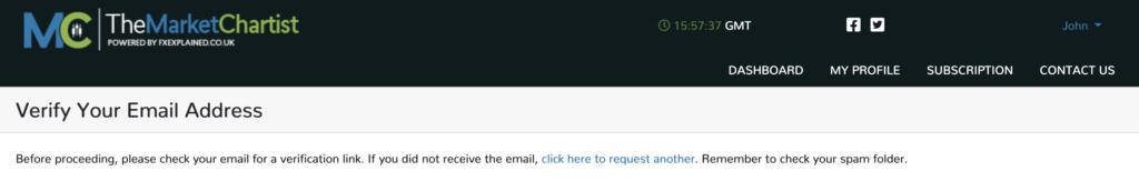 Verify Email Address