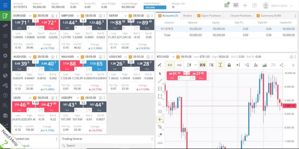 Best Trading Platform - FXCM