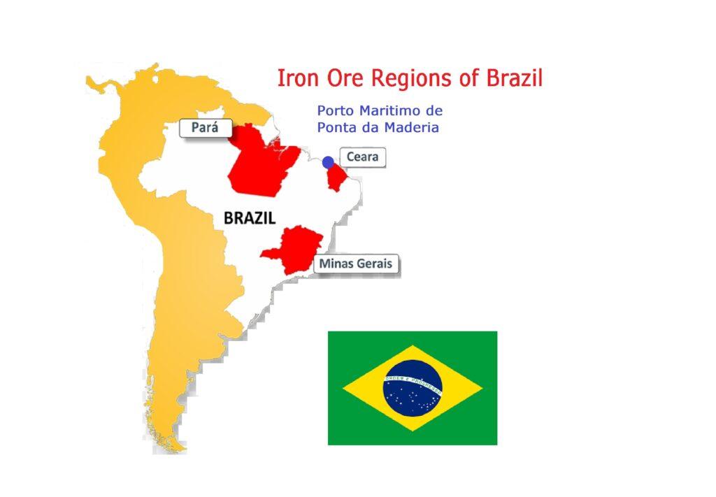 Iron Ore Regions of Brazil